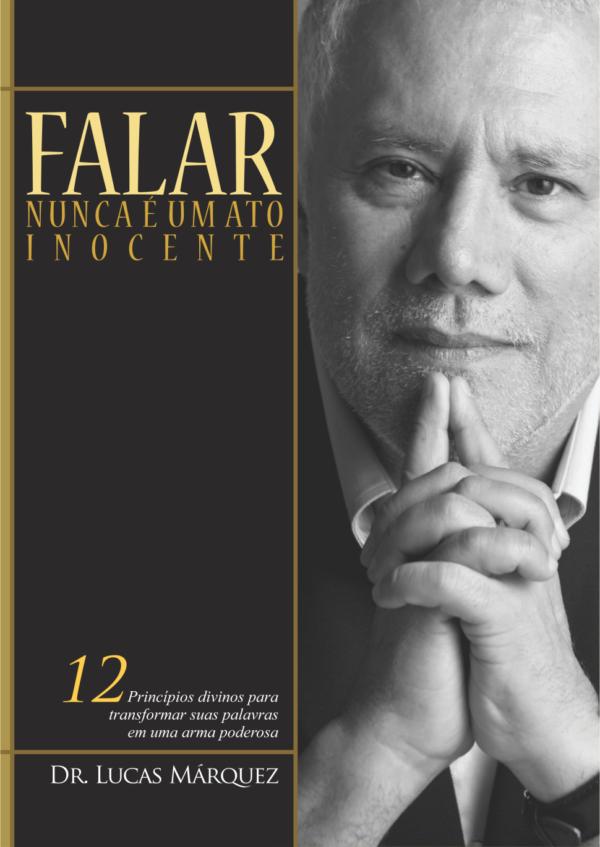 Capa do Livro Falar Nunca é um Ato Inocente