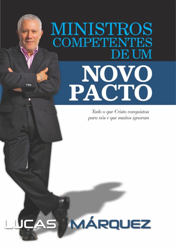 Capa do Livro Ministros Competentes de um Novo Pacto