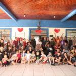 TEENS do Sonho Aproveitam a Tarde de Domingo para ir ao Asilo em Taubaté