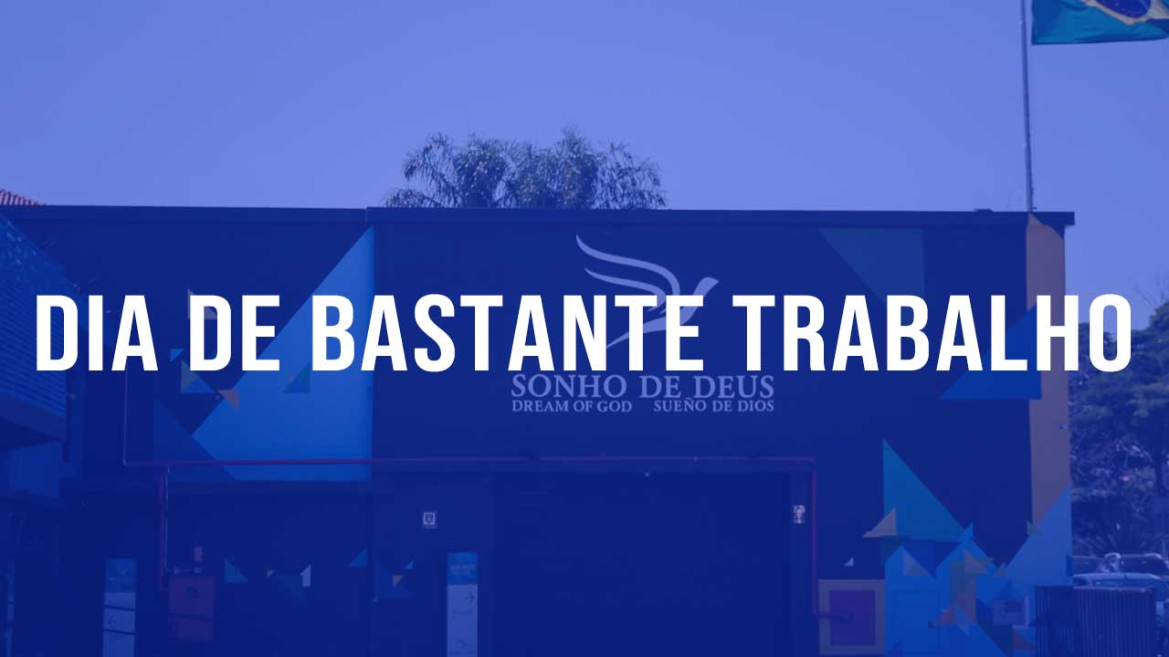 You are currently viewing Dia de Bastante Trabalho